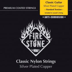 Fire&Stone Konzertgitarrensaiten (2x G umsponnen) - high Tension