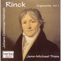Rinck, Johann Christian Heinrich: Orgelwerke Band 1 : CD