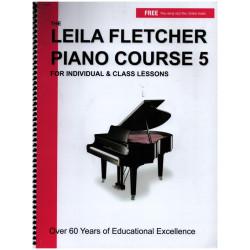 Fletcher, Leila: Piano Course vol.5 (+mp3 files)