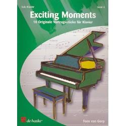 Gorp, Fons van: Exciting Moments 10 Vortragsstücke für Klavier (Grad 4)