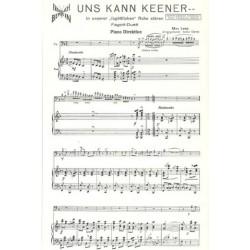Lenz, Max: Uns kann keener : für 2 Fagotte und Klavier
