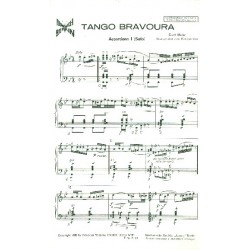 Mahr, Curt: Tango Bravoura : f├╝r 3 Akkordeons