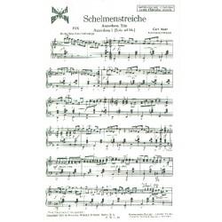 Mahr, Curt: Schelmenstreiche : für 3 Akkordeons