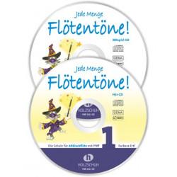 Ertl, Barbara: Jede Menge Flötentöne Band 1 2 CD's für Altblockflöte