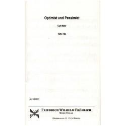 Mahr, Curt: Optimist und Pessimist für Akkordeon und Begleitung