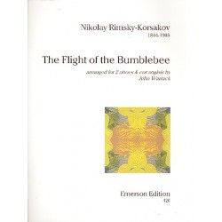 Rimski-Korsakow, Nicolai: The Flight of the Bumble-Bee : for 2 oboes and cor anglais