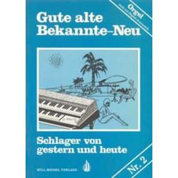 Gute alte Bekannte Band 2 : für E-Orgel