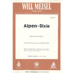 Alpen-Dixie : Potpourri für Klavier