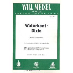 Waterkant-Dixie : Potpourri für Klavier