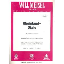 Rheinland-Dixie : Potpourri f├╝r Klavier