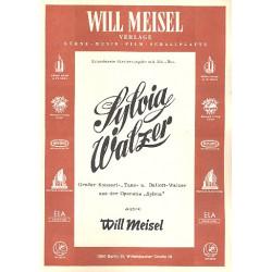 Meisel, Will: Sylvia-Walzer : f├╝r Klavier