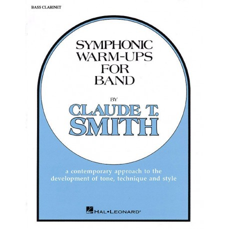 Smith, Claude: Symphonic Warm Ups for band bass clarinet