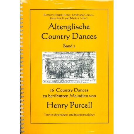 Altenglische Country Dances Set (Band 1 +Band 2 +CD1 +CD2)