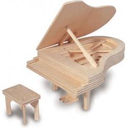 QUAY Woodcraft Construction Kit - Piano