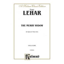Lehar Merry Widow Vocal Score Kalmus Classic Series