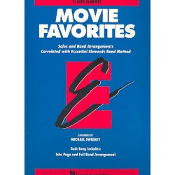 Movie Favorites : for band alto clarinet
