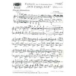 Fantasie aus Donizettis Don Pasquale: für Salonorchester