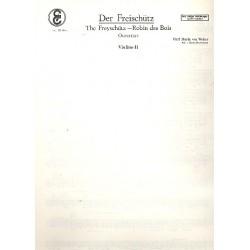 Der Freischütz : Ouvertüre für Salonorchester Ergänzungsstimmen