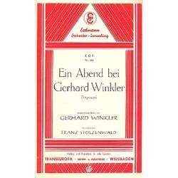 Winkler, Gerhard: Ein Abend bei Gerhard Winkler : Potpourri f├╝r Salonorchester