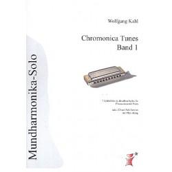 Kahl, Wolfgang: Chromonica Tunes Band 1 (+CD) : 7 Spielst├╝cke in aktuellen Styles f├╝r Chromonica und Klavier