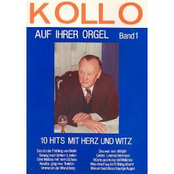 Kollo, Walter: Kollo auf ihrer Orgel : für E-Orgel