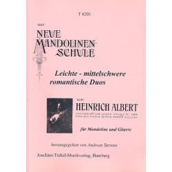 Albert, Heinrich: Leichte bis mittelschwere Duos aus der Neuen Mandolinenschule