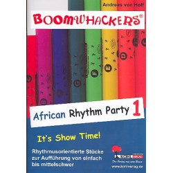 Hoff, Andreas von: Boomwhackers African Rhythm Party vol.1