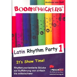 Hoff, Andreas von: Boomwhackers : Latin Rhythm Party vol.1
