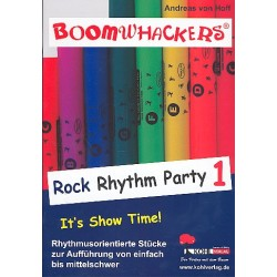 Hoff, Andreas von: Boomwhackers : Rock Rhythm Party vol.1