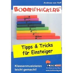 Hoff, Andreas von: Boomwhackers : Tipps und Tricks für Einsteiger