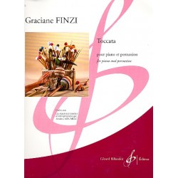 Finzi, Graciane: Toccata: pour piano et percussion