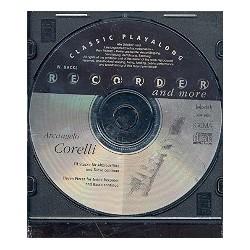 Corelli, Arcangelo: 11 St├╝cke f├╝r Altblockfl├Âte und Bc : CD zu VHR3654