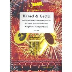 Humperdinck, Engelbert: Hänsel & Gretel : für einen Erzähler und Blechbläserensemble Partitur und Stimmen