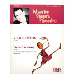 Fortin, Viktor: Pinocchio Swing : für Tenorblockflöte (Sopranblockflöte) und Klavier