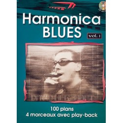 Herzhaft, David: Harmonica Blues Vol.1 (+CD) : for harmonica
