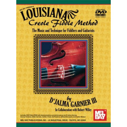 Garnier III , D'Jalma: Louisiana Creole Fiddle Method (+DVD) : for violin and guitar