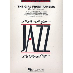 Jobim, Antonio Carlos: Easy Jazz Combo : Girl from Ipanema score and parts