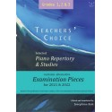 Teacher's Choice, Selected Piano Repertory Piano 2021 and 2020, Grades 1,2 and 3