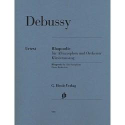 Debussy, Claude: Rhapsodie für Altsaxophon und Orchester für Altsaxophon und Klavier