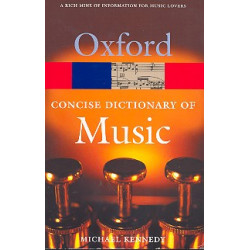 Kennedy, Michael: Concise Dictionary of Music en