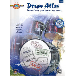 Drum Atlas Vol.1 (+CD) : for drum set