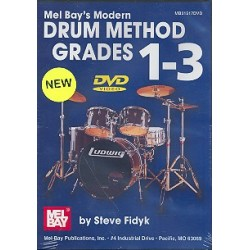 Fidyk, Steve: Modern Drum Method Grade 1-3 DVD