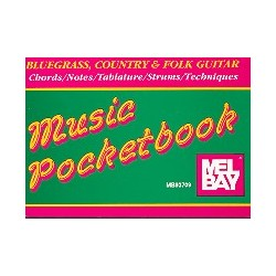 Bluegrass, Country and Folk Guitar : Pocketbook