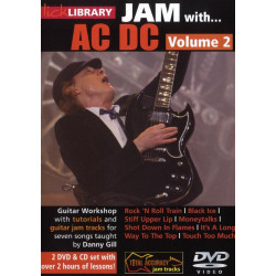 Jam with AC/DC Volume 2 : for guitar DVD