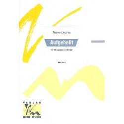 Lischka, Rainer: Aufgehellt : für Altsaxophon und Orgel