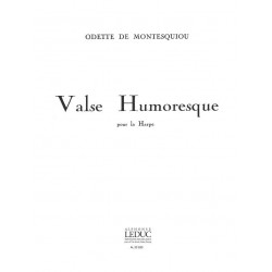 Montesquiou, Odette de: Valse Humoresque : pour harpe