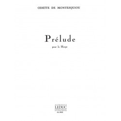 Montesquiou, Odette de: Prelude : pour harpe