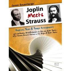 Schwertberger, Gerald: Joplin meets Strauß : für Klavier