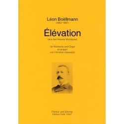 Boellmann, Léon: Elevation : für Klarinette und Orgel