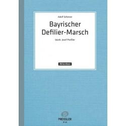 Scherzer, Adolf: Bayerischer Defiliermarsch : für Akkordeon